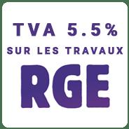 TVA à 5.5% pour les travaux RGE