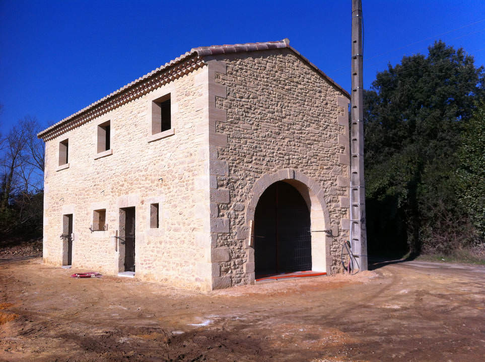 renovation mas Uzes